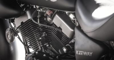 Essai Keeway Blackster 250