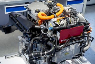 BMW Série 5 GT Fuel Cell prototype 2015 (officiel)