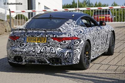 Jaguar F-Type R-S (juillet 2015)