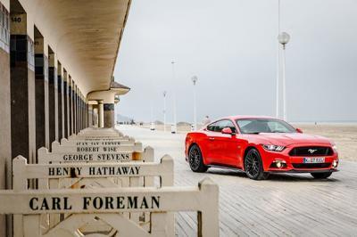 La Ford Mustang fête son indépendance sur les routes françaises