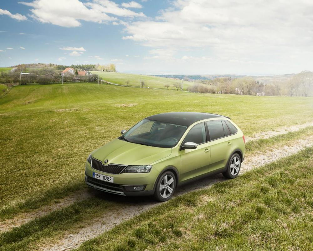 Skoda Rapid Spaceback ScoutLine (officiel)