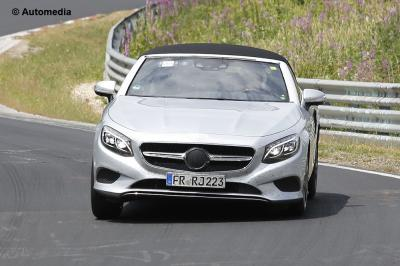 Mercedes Class S Cabriolet (juillet 2015)