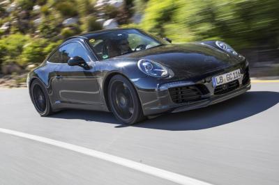 Porsche 911 2016 (spyshots officiels)