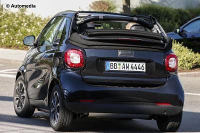Smart Fortwo Cabrio (juillet 2015)