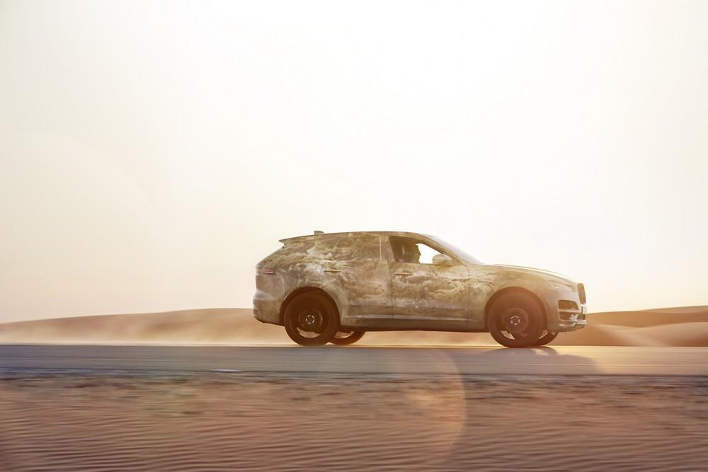 Jaguar F-Pace (spyshots officiels - juillet 2015)