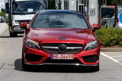 Mercedes Classe C Coupé (juillet 2015)