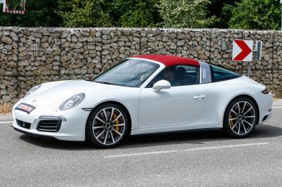 Porsche 911 Targa restylée 2016 (août 2015)