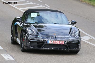 Porsche Boxster restylée (août 2015)