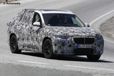 BMW X2 (août 2015)
