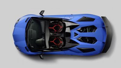 Lamborghi Aventador SV Roadster (officiel)