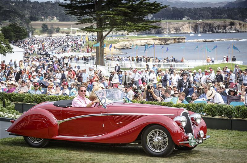 Les 10 plus belles voitures de Pebble Beach 2015