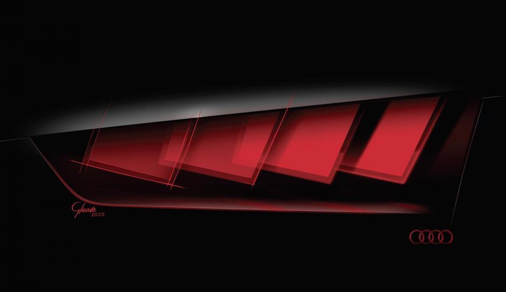 Croquis concept Audi e-tron quattro (officiel)