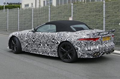 Jaguar F-Type R-S Roadster (août 2015)