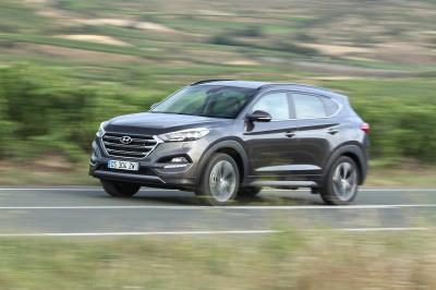Hyundai Tucson 1.6 CDTi 115 ch 2WD 2015 (essai)