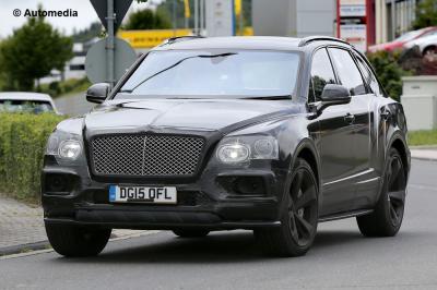 Bentley Bentayga Speed (septembre 2015)