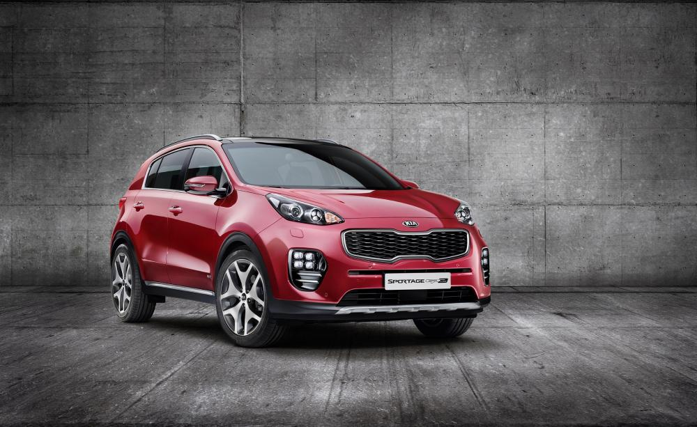 Kia Sportage 2016 (officiel)