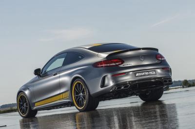 Mercedes-AMG C Coupé DTM et C 63 Edition 1 (officiel)