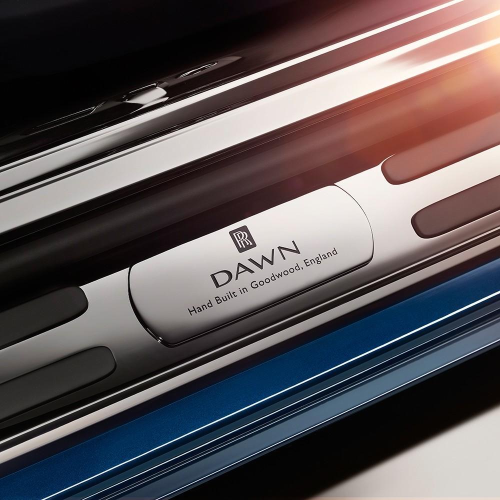Teasers Rolls-Royce Dawn (officiel)