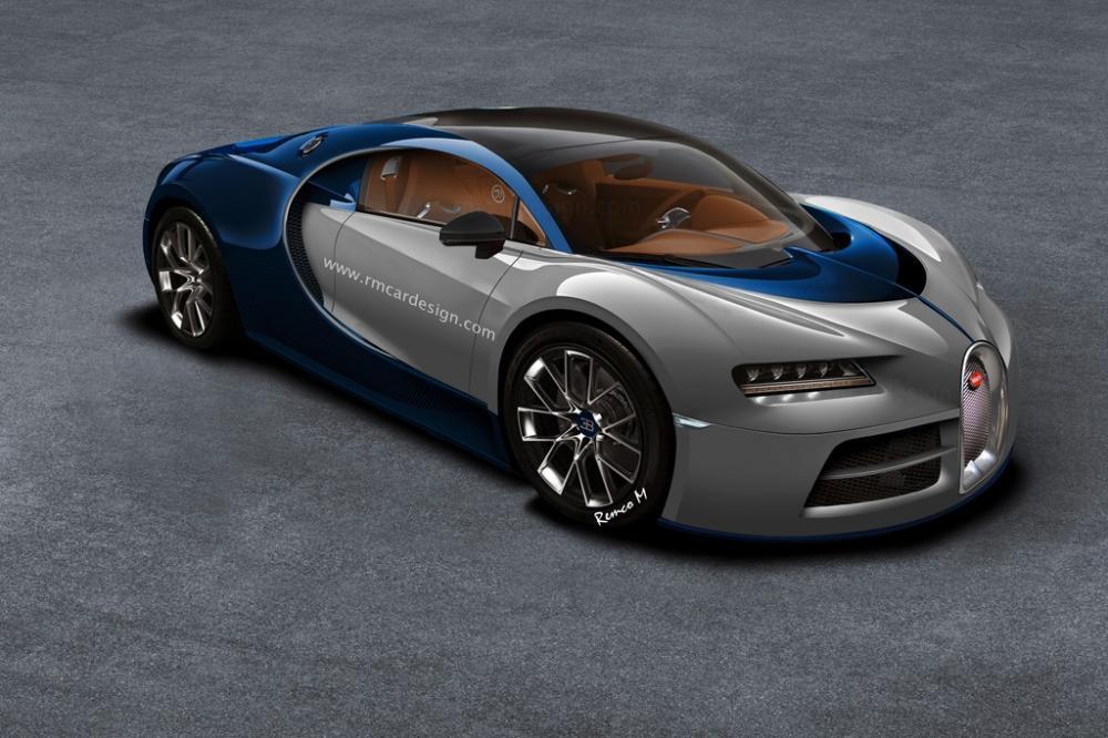 Rendus Bugatti Chiron