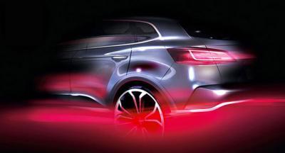 Teasers Borgward SUV (officiel)