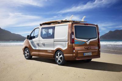 Opel Vivaro Surf Concept 2015 (officiel)