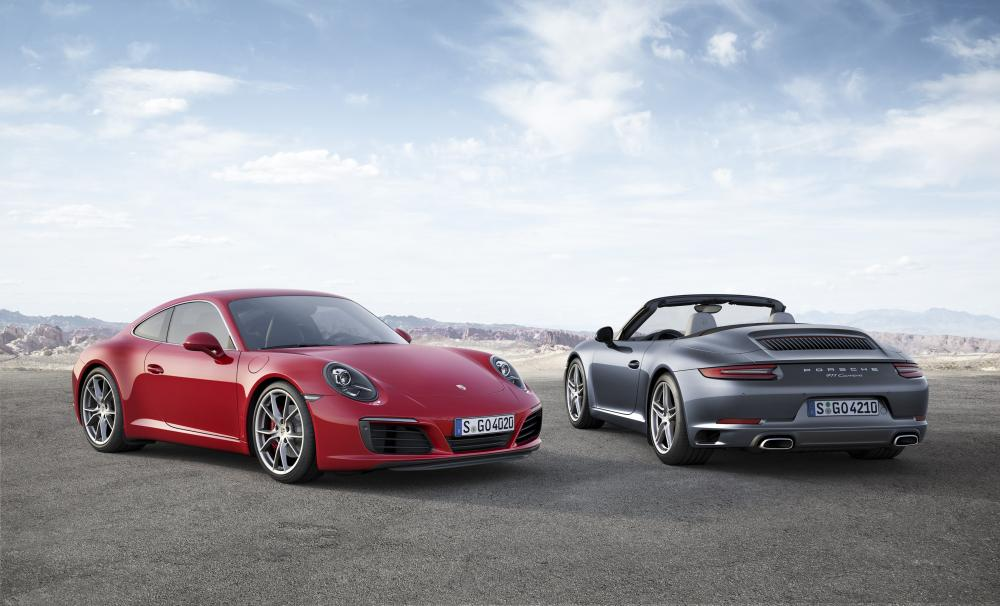 Porsche 911 2015 (officiel)