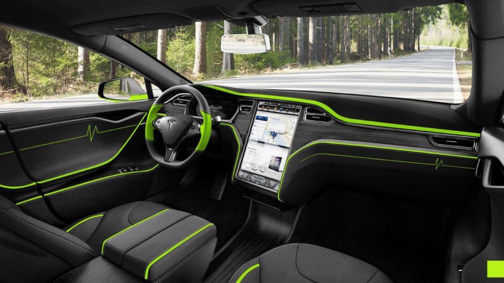 Tesla Model S par Mansory