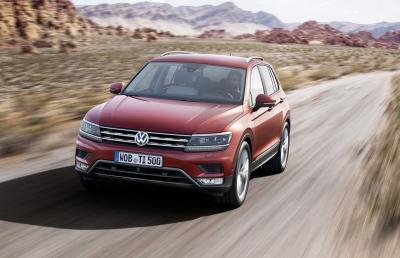 Volkswagen Tiguan 2016 (officiel)