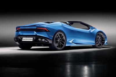 Lamborghini Huracan Spyder (officiel)