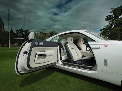 Rolls-Royce Wraith - History of Rugby (officiel)