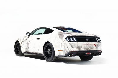 Quand la nouvelle Ford Mustang devient une œuvre d'art