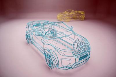 Teasers Range Rover Evoque Cabriolet