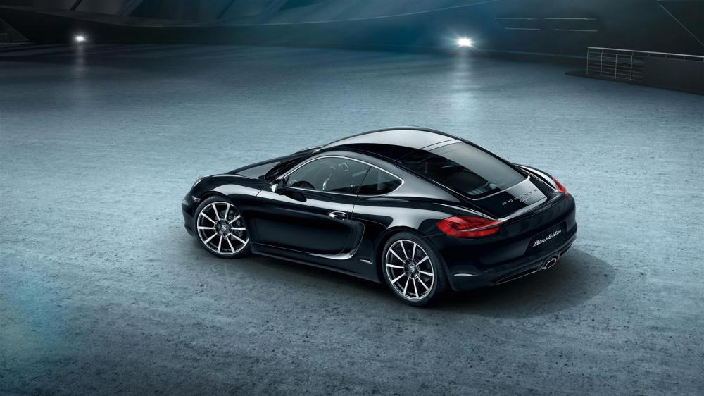 Porsche Cayman Black Edition 2016