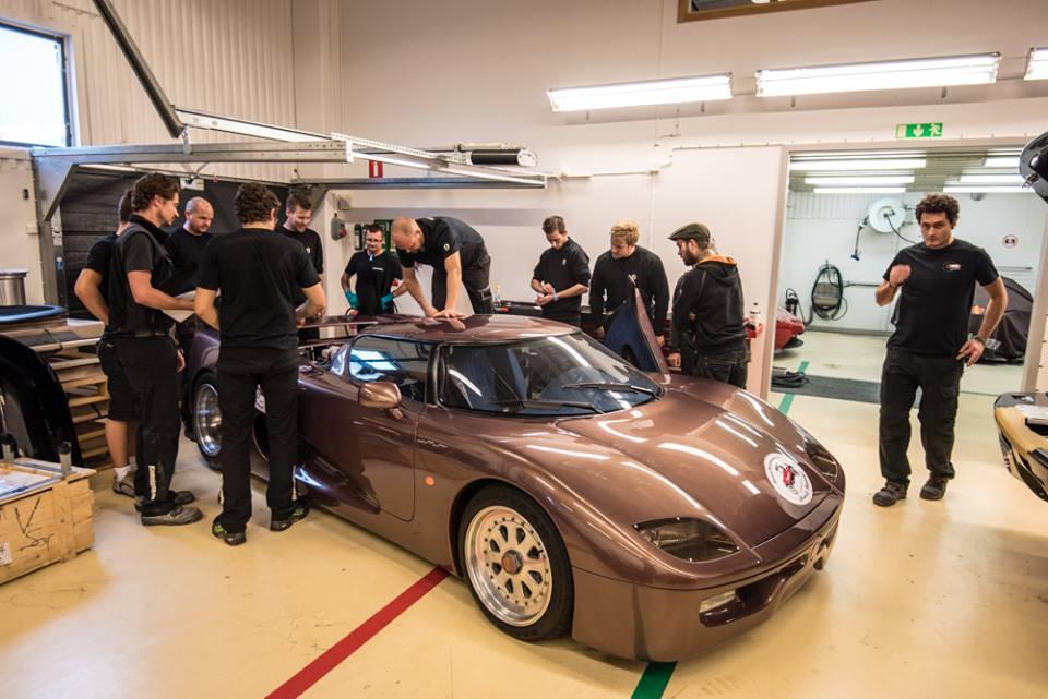 Premier Prototype de Koenigsegg
