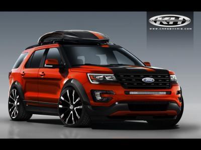 Ford Explorer SEMA 2015