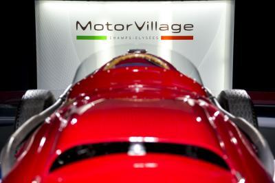 Des stars italiennes de la compétition automobile réunies en une exposition