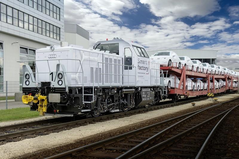 Locomotive hybride Audi