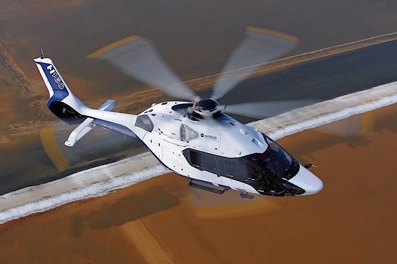 Airbus H160 par Peugeot Design Lab