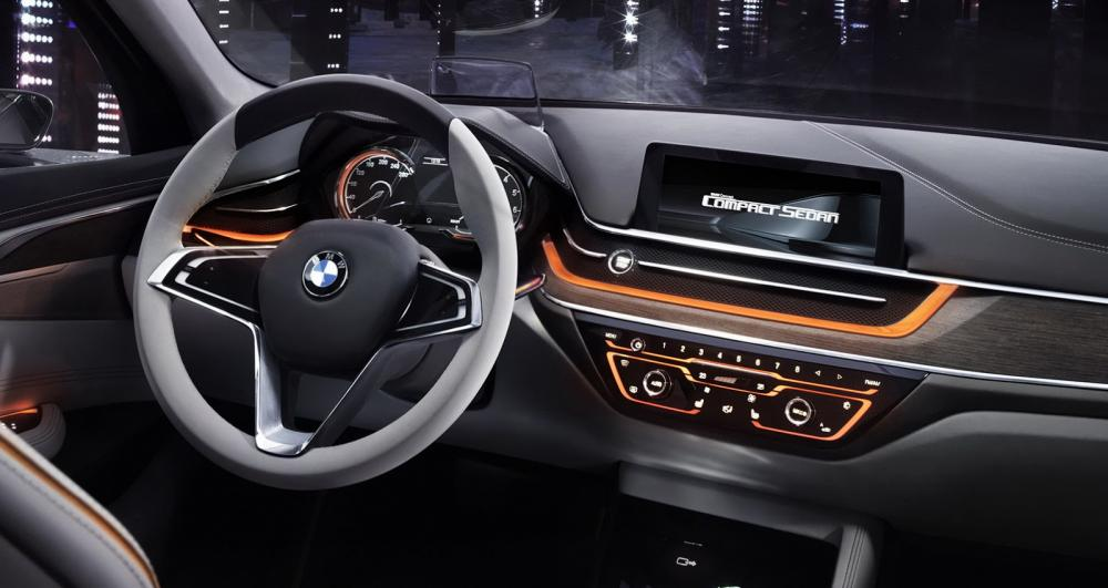 BMW Compact Sedan Concept (Canton 2015)