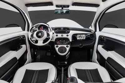 Fiat 500E Star Wars