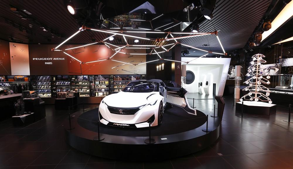 Peugeot Avenue (Noël 2015)