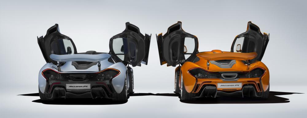 Fin de production pour la McLaren P1