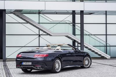 Mercedes S 65 AMG Cabriolet