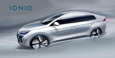 Teasers Hyundai Ioniq