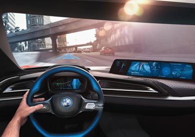 BMW fait le plein d'innovations technologiques au CES de Las Vegas 2016