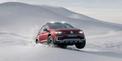 Volkswagen Tiguan GTE Active Concept (Detroit 2016)