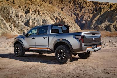 Nissan Titan Warrior Concept (Detroit 2016)
