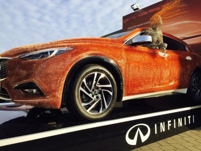 Infiniti Q30 London Art Fair 2016