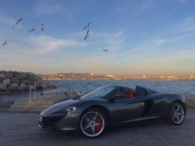 McLaren 650S Spider 2015 (essai)