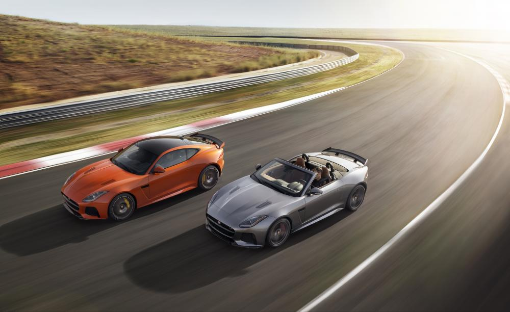 Jaguar F-Type SVR 2016 (officiel)